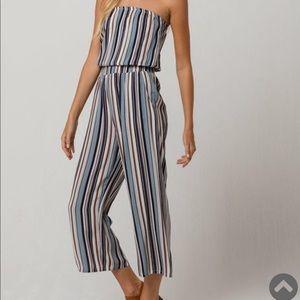 Dresses & Skirts - TILLYS Strapless jumpsuit